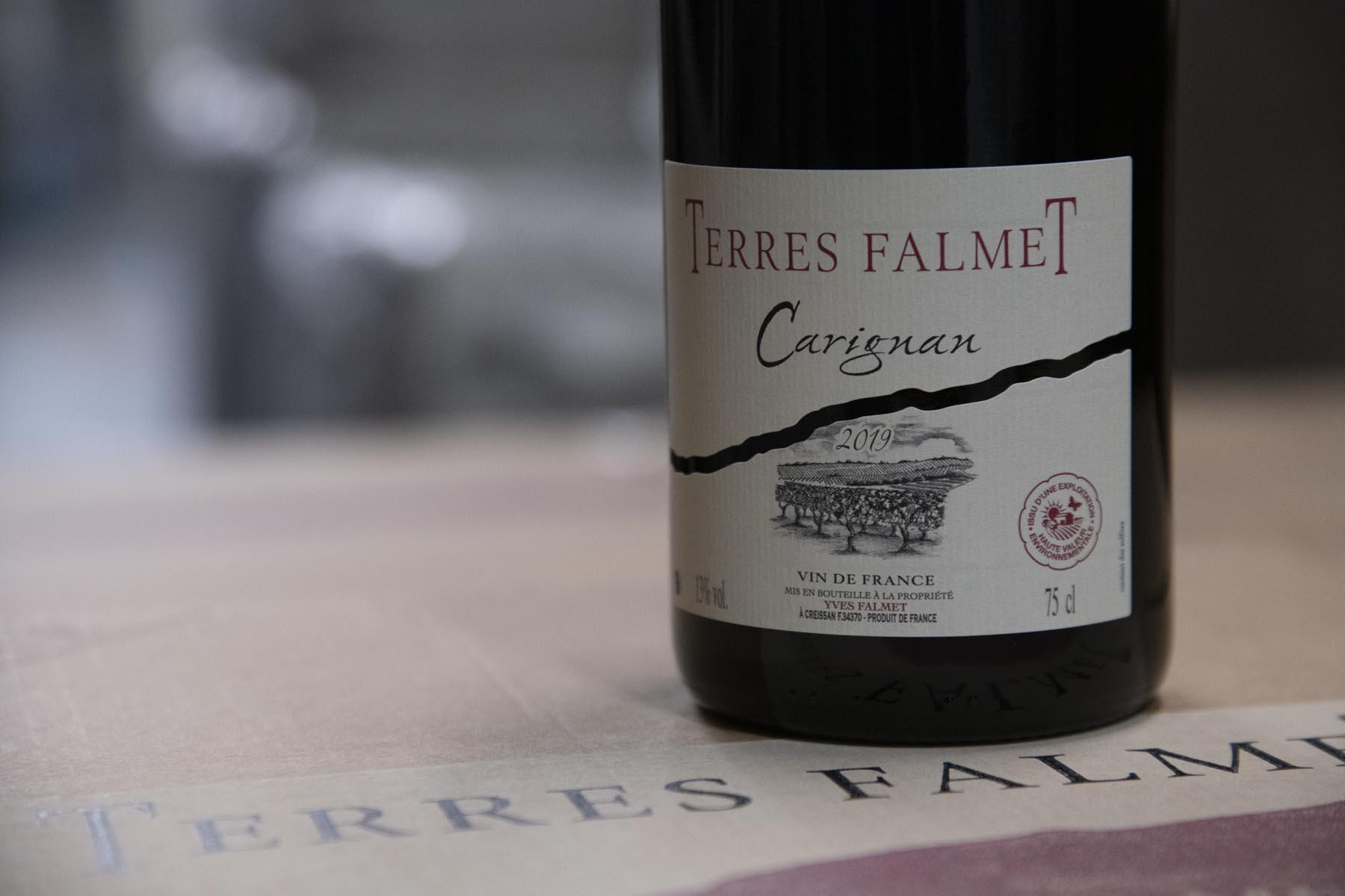 label hve vin saint chinian