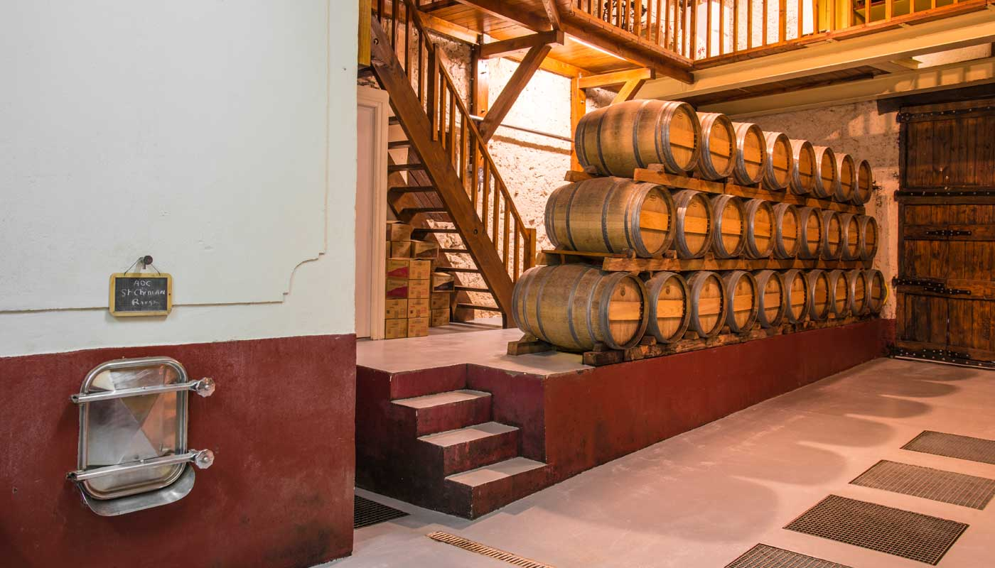 cave vinification saint chinian